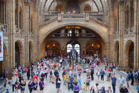 popular science: National History Museum, is one of the most favourite museum for families in London.