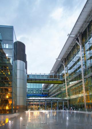 LONDON, UK - MARCH 28, 2015: Heathrow airport Terminal 5.