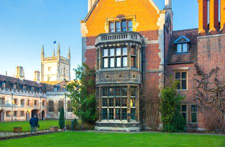 cambridge: CAMBRIDGE UK  JANUARY 18 2015: Pembroke college university of Cambridge.