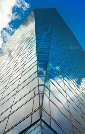 cuatro: MADRID, SPAIN - MAY 28, 2015: Madrid city business centre, modern skyscrapers, Cuatro Torres