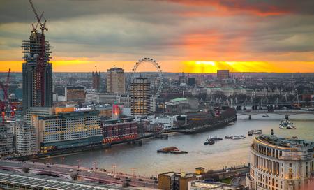 lloyds of london: LONDON, UK - JANUARY 27, 2015: panoramic view City of London Editorial