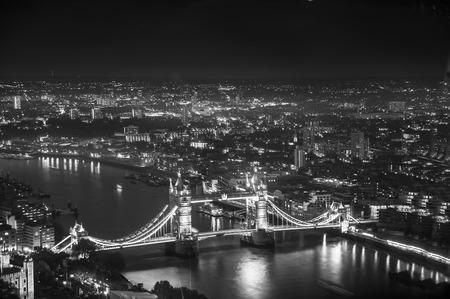 dealings: Tower bridge at night, London