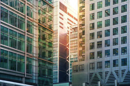 negocios internacionales: Canary Wharf bancario y centro de negocios