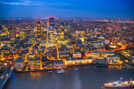 instability: LONDON, UK - APRIL 15, 2015: London night view