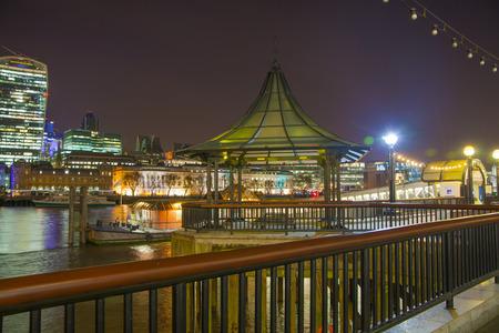 april 15: LONDON, UK - APRIL 15, 2015: London night view