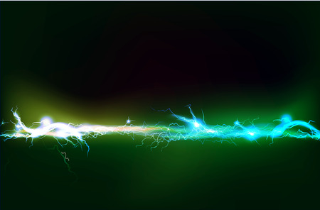 electrical: Abstract background made of Electric lighting effect