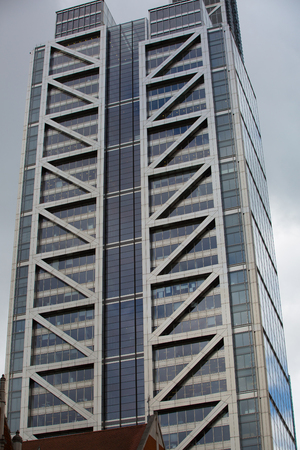international banking: LONDON, UK - SEPTEMBER 14, 2015: Office buildings of Canary Wharf, international business and banking aria Editorial
