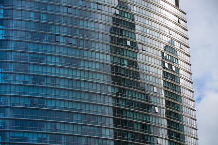 negocios internacionales: LONDRES, Reino Unido - septiembre 14 de, 2015: Los edificios de oficinas de Canary Wharf, negocios internacionales y aria de la banca Editorial