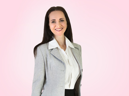 businesswoman suit: Attractive woman Portrait