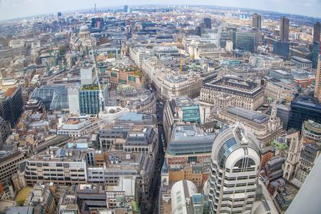 aerial: London panorama