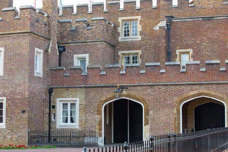 LONDON, UK - OCTOBER 4, 2016: St. James's palace, royal residence and home for Charles, Prince of Wales.