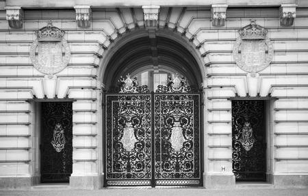 buckingham palace: LONDON, UK - OCTOBER 4, 2016: Buckingham palace
