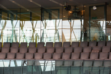 go inside: Modern office space interior, London