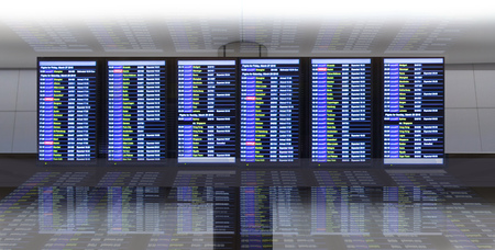 departure: Check in, Airport Departure and Arrival information