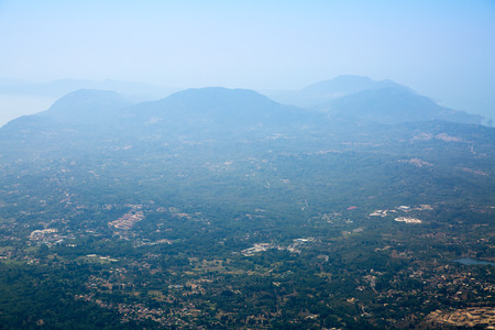 corfu: Corfu landscape, Mountains. Greece Stock Photo