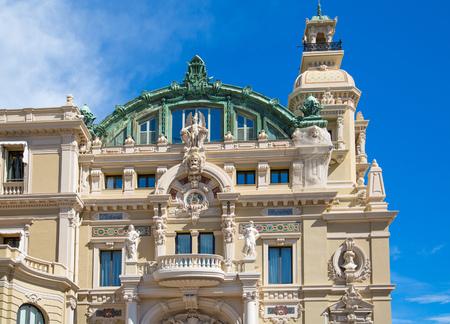 Monaco, Monte Carlo - September 17, 2016: The Grand casino Monte Carlo, gambling and entertainment complex in Cote de Azul.