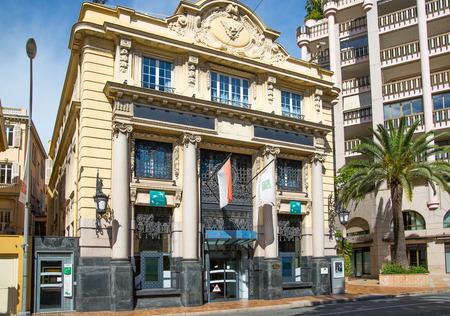 Monaco, Monte Carlo - September 17, 2016:  Government building, locates next to Grand Casino
