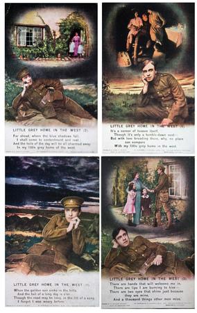 1940s Post cards from the War. Vintagecards Editöryel