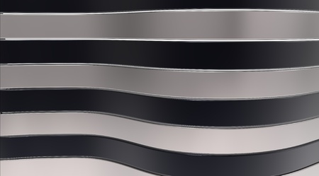 Black and grey glossy strips on a background Stock Photo - 8927141