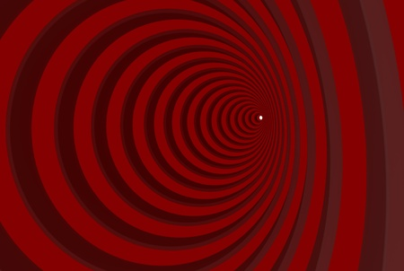 Red flat strips in the form of a circle Stock Photo - 8927177