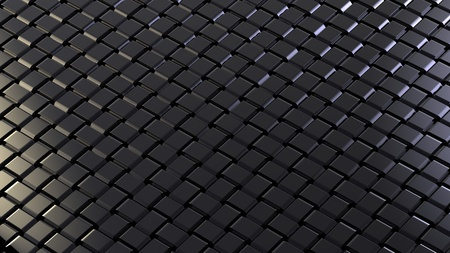 weaved: The weaved grid from black strips
