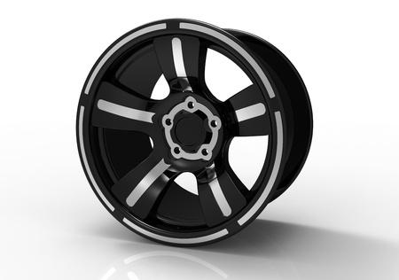 3d render of  wheel titanic disk Stock Photo - 9576290