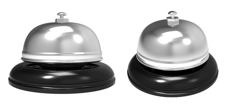 3d render of reception bell Stock Photo - 12270788