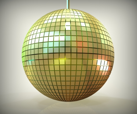 3d render of disco ball Stock Photo - 23268224