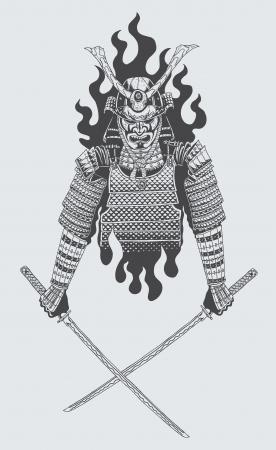 samurai Reklamní fotografie - 23932148