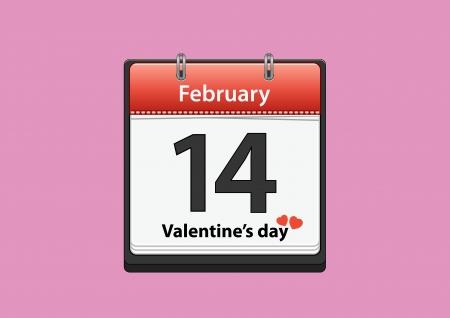 valentine date Illustration