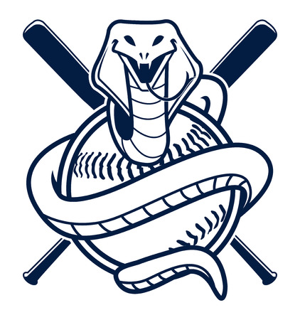 cobra baseball Vector