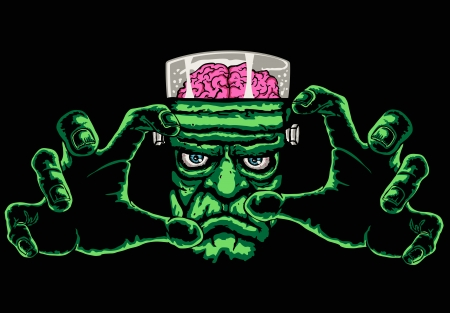 frankenstein monster Иллюстрация