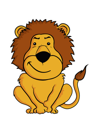 cartoon lion Stock Vector - 24018140