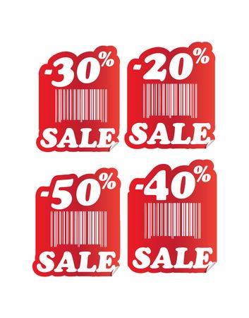 cut price: cut price percent sale sticker