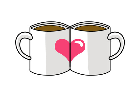 mug love Illustration