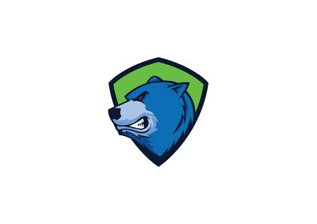 bear sport mascot Stock Vector - 24014634