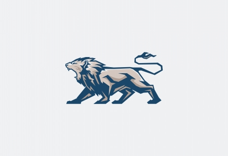 dingbats: lion Illustration