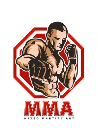 octagon: MMA mascot