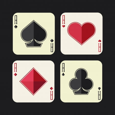ace of clubs: aces