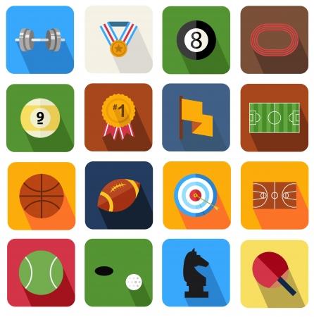 dumbell: Icona piatto 17 Vettoriali