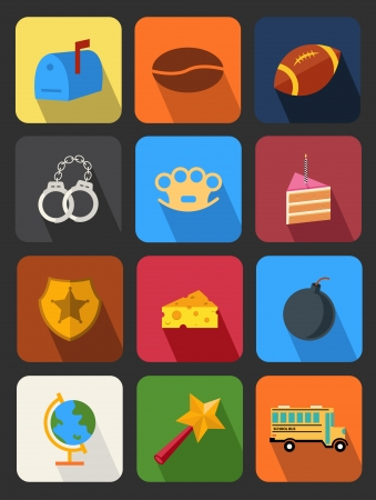 knuckles: flat icons set 15