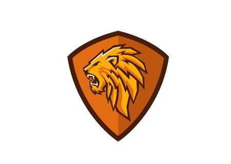 lion head crest