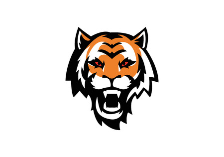 tiger head Stock Vector - 24540129
