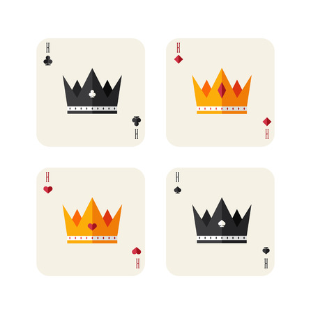 king and queen of hearts: kings of playing card