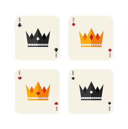 Re di carte da gioco Archivio Fotografico - 27533180