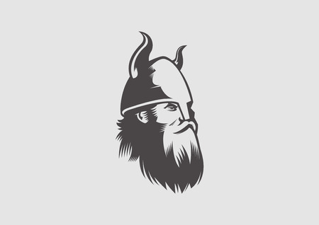 viking chieftain Vector
