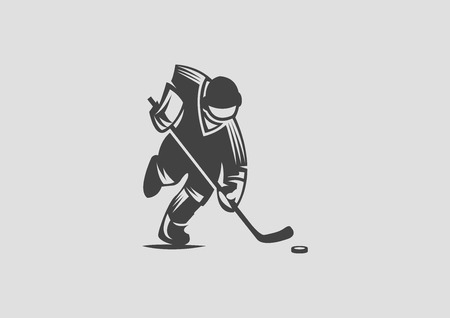 hockey Ilustrace
