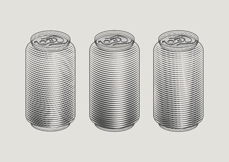 aluminum: soft drink can