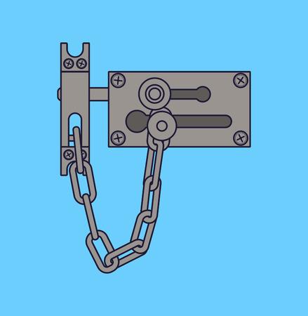 door lock: door lock
