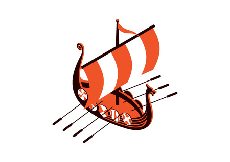 sea transport: viking ship